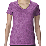 Ladies'   Heavy Cotton™ 5.3 oz. V-Neck T-Shirt