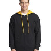 Adult French Terry Full-Zip Hooded Sweatshirt