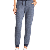 Ladies' Denim Fleece Jogger Pant