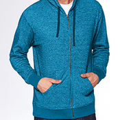 Adult Denim Fleece Full-Zip Hoody